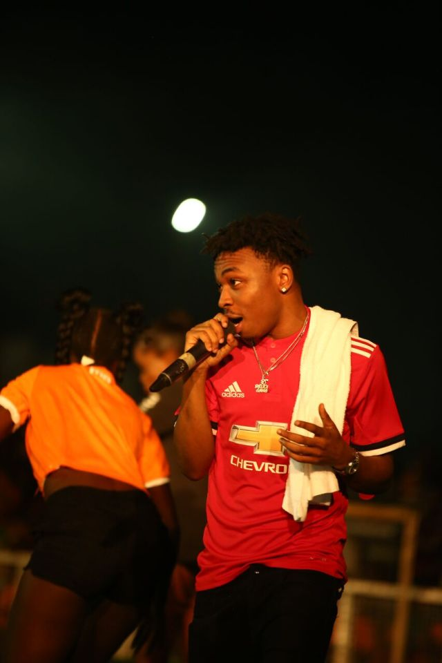 IMG 7676 preview - Davido, Runtown, Mr. P, Niniola, Oritsefemi, 9ice, Olu Maintain, Falz & more Shutdown Barbeach at the Merrybet Celebrity Fans Challenge Event