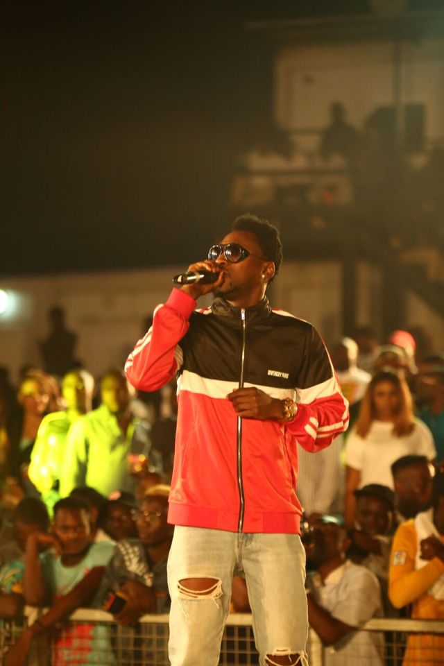 IMG 7690 preview - Davido, Runtown, Mr. P, Niniola, Oritsefemi, 9ice, Olu Maintain, Falz & more Shutdown Barbeach at the Merrybet Celebrity Fans Challenge Event