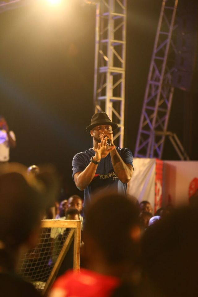 IMG 7703 preview - Davido, Runtown, Mr. P, Niniola, Oritsefemi, 9ice, Olu Maintain, Falz & more Shutdown Barbeach at the Merrybet Celebrity Fans Challenge Event