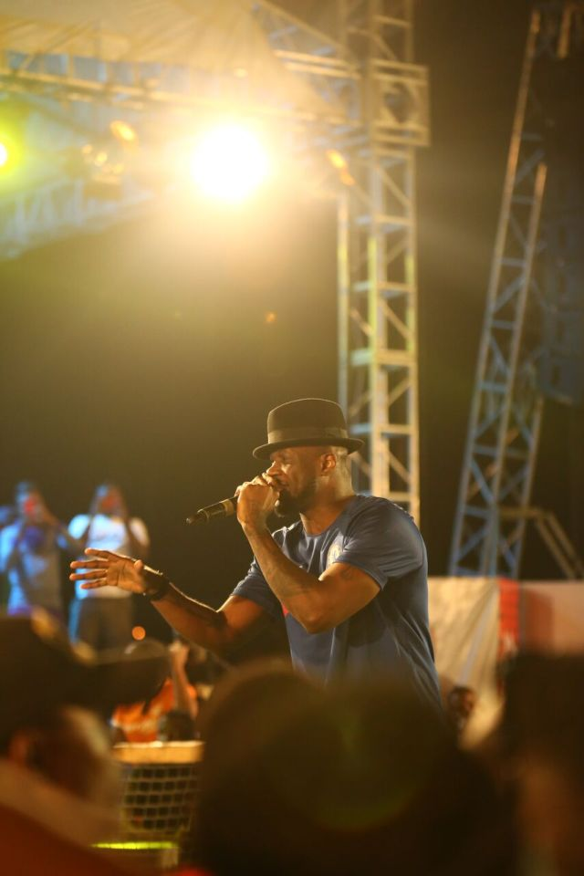 IMG 7704 preview - Davido, Runtown, Mr. P, Niniola, Oritsefemi, 9ice, Olu Maintain, Falz & more Shutdown Barbeach at the Merrybet Celebrity Fans Challenge Event