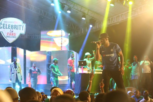 IMG 7707 preview - Davido, Runtown, Mr. P, Niniola, Oritsefemi, 9ice, Olu Maintain, Falz & more Shutdown Barbeach at the Merrybet Celebrity Fans Challenge Event