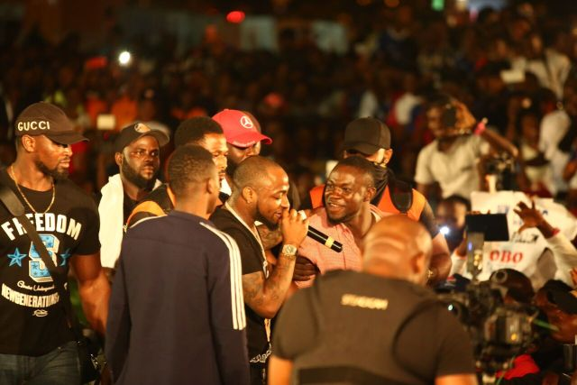 IMG 7741 preview - Davido, Runtown, Mr. P, Niniola, Oritsefemi, 9ice, Olu Maintain, Falz & more Shutdown Barbeach at the Merrybet Celebrity Fans Challenge Event