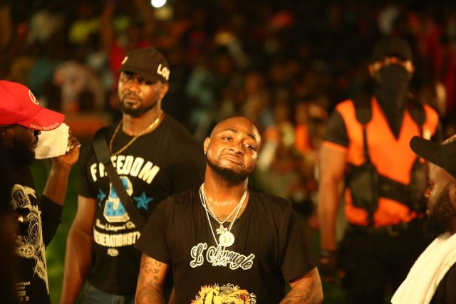 IMG 7760 preview - Davido, Runtown, Mr. P, Niniola, Oritsefemi, 9ice, Olu Maintain, Falz & more Shutdown Barbeach at the Merrybet Celebrity Fans Challenge Event