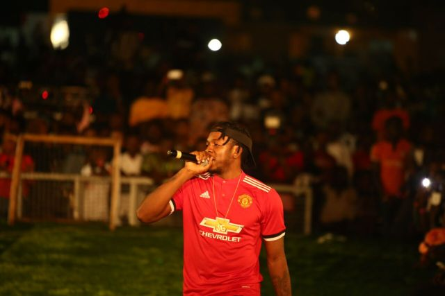 IMG 7771 preview - Davido, Runtown, Mr. P, Niniola, Oritsefemi, 9ice, Olu Maintain, Falz & more Shutdown Barbeach at the Merrybet Celebrity Fans Challenge Event