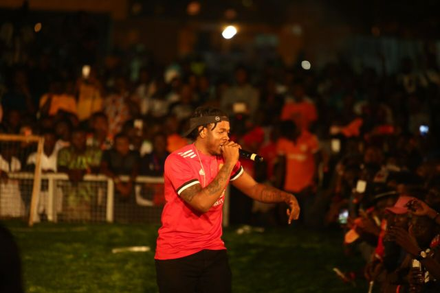 IMG 7776 preview - Davido, Runtown, Mr. P, Niniola, Oritsefemi, 9ice, Olu Maintain, Falz & more Shutdown Barbeach at the Merrybet Celebrity Fans Challenge Event