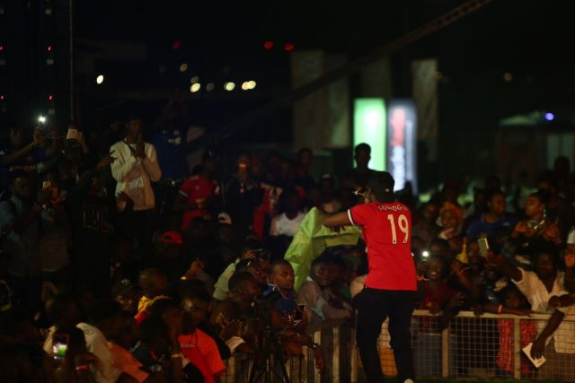 IMG 7786 preview - Davido, Runtown, Mr. P, Niniola, Oritsefemi, 9ice, Olu Maintain, Falz & more Shutdown Barbeach at the Merrybet Celebrity Fans Challenge Event