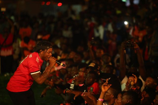 IMG 7788 preview - Davido, Runtown, Mr. P, Niniola, Oritsefemi, 9ice, Olu Maintain, Falz & more Shutdown Barbeach at the Merrybet Celebrity Fans Challenge Event