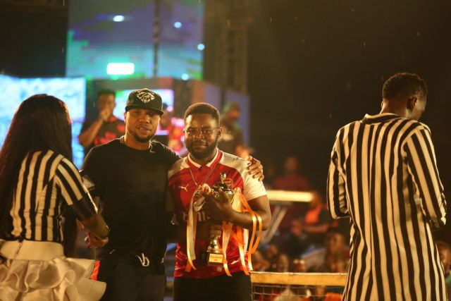 MCFC15 - Davido, Runtown, Mr. P, Niniola, Oritsefemi, 9ice, Olu Maintain, Falz & more Shutdown Barbeach at the Merrybet Celebrity Fans Challenge Event