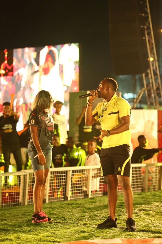 MCFC2 - Davido, Runtown, Mr. P, Niniola, Oritsefemi, 9ice, Olu Maintain, Falz & more Shutdown Barbeach at the Merrybet Celebrity Fans Challenge Event