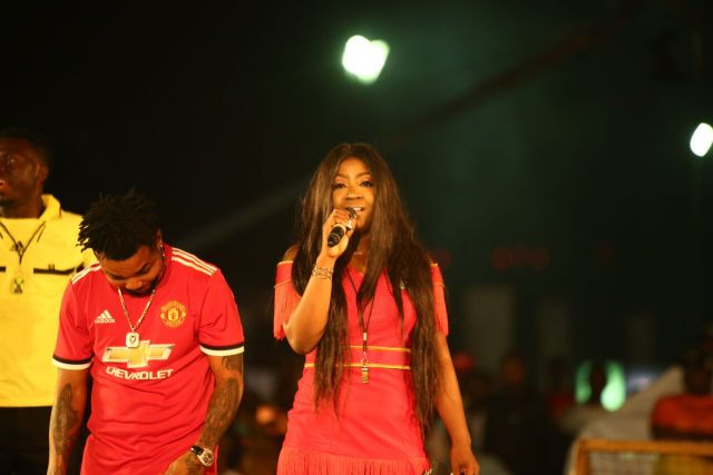 MCFC4 - Davido, Runtown, Mr. P, Niniola, Oritsefemi, 9ice, Olu Maintain, Falz & more Shutdown Barbeach at the Merrybet Celebrity Fans Challenge Event