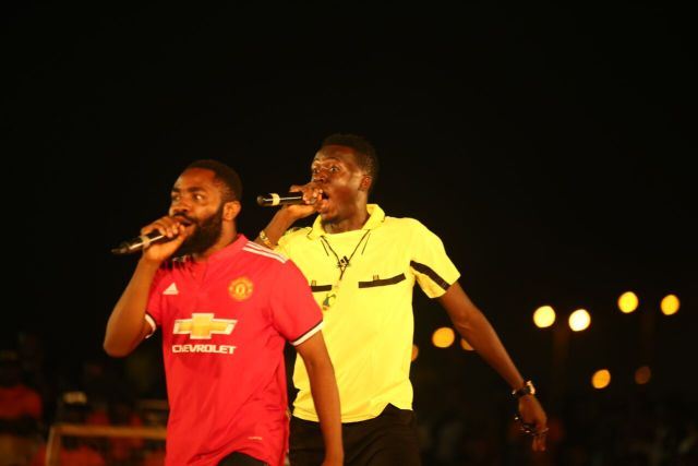 MCFC6 - Davido, Runtown, Mr. P, Niniola, Oritsefemi, 9ice, Olu Maintain, Falz & more Shutdown Barbeach at the Merrybet Celebrity Fans Challenge Event