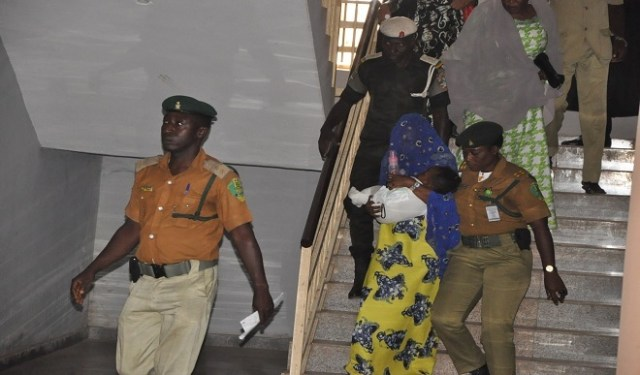 Maryams 02 - Photos of Maryam Sanda, cuddling her baby today, as court refuses pleas, sends her back to prison