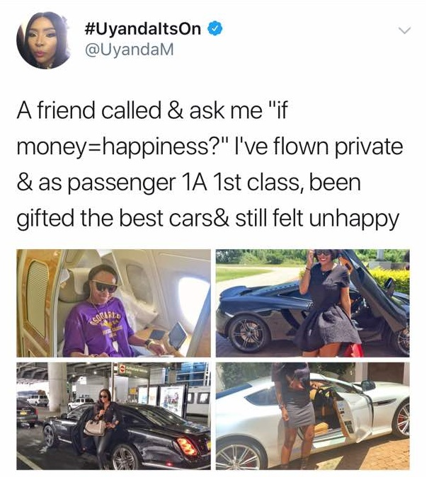 WhatsApp Image 2017 12 04 at 8.12.49 AM - South African Lady Shows Off Her Luxurious Lifestyle To Prove It Doesn't Equate Happiness (Photos)