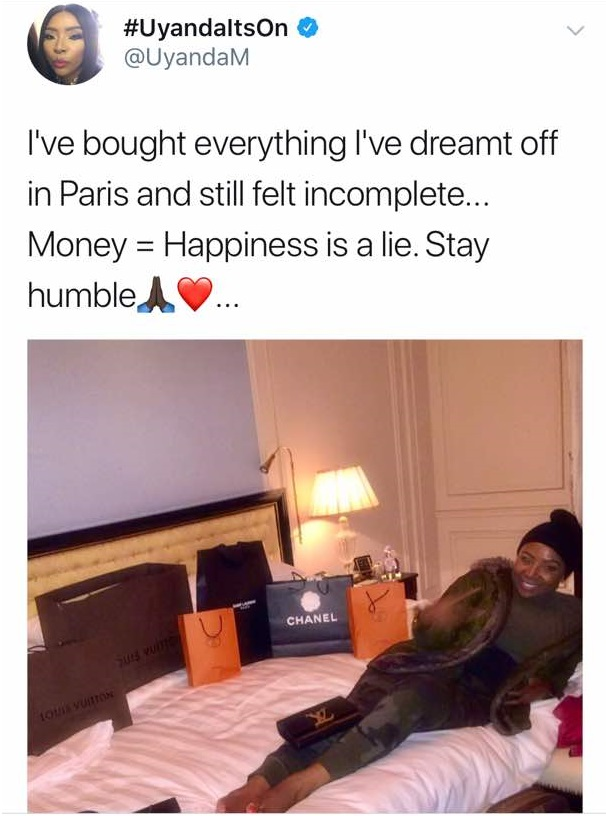 WhatsApp Image 2017 12 04 at 8.12.50 AM 1 - South African Lady Shows Off Her Luxurious Lifestyle To Prove It Doesn't Equate Happiness (Photos)