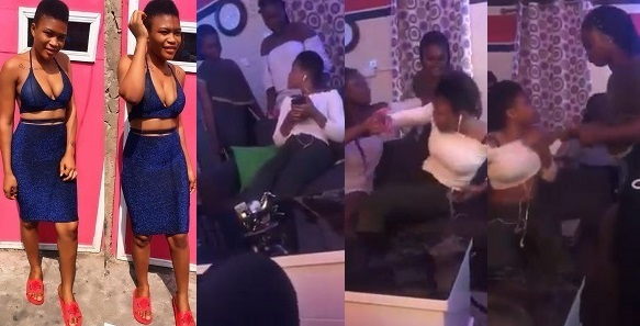 Guy Sets Up Beautiful Lady For His Girlfriend & Her Gang To Beat Up So He Can Prove His Love For His Girlfriend