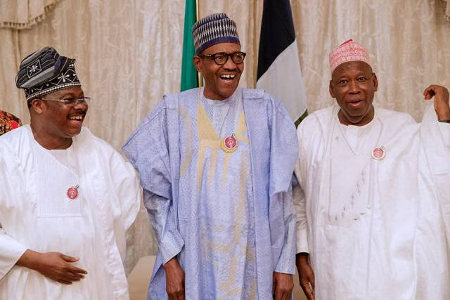 buhari surprise birthday party 08 - Photos And Video From Buhari's Surprise Birthday Get Together