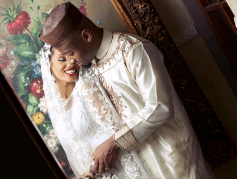 Di'Ja shares photos of her husband