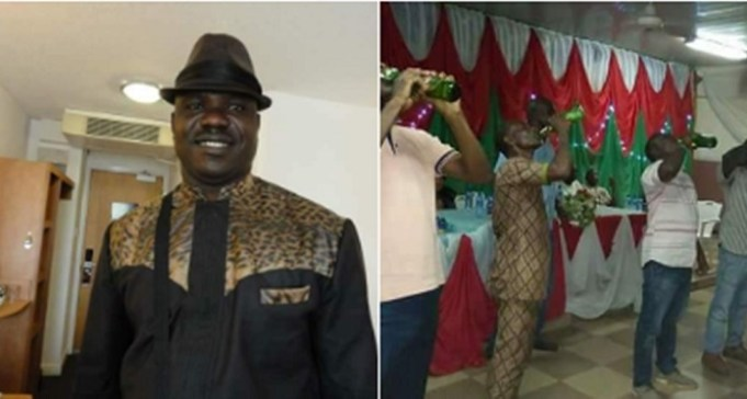 ebonyi state governor organizes drinking competition