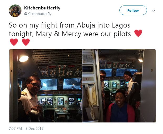 female1 - Two Female Pilots All Smiles After a successful trip Flying From Abuja To Lagos. Photos