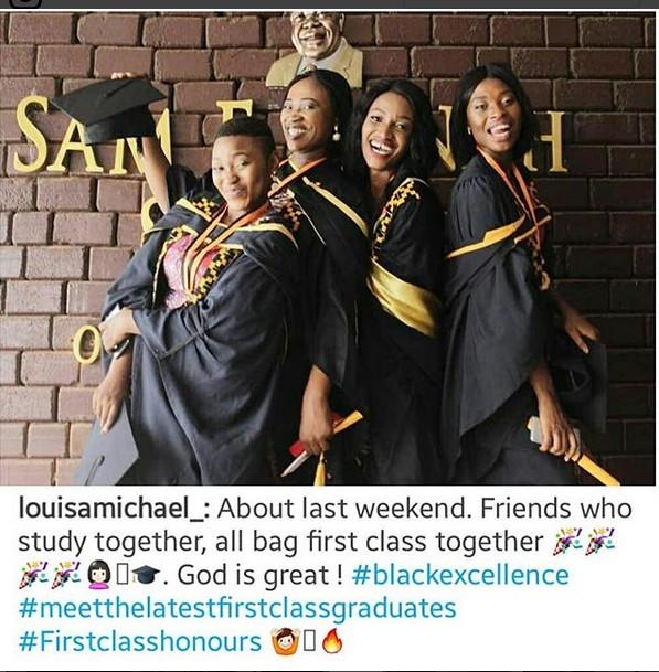 Four Nigerian Friends Celebrates