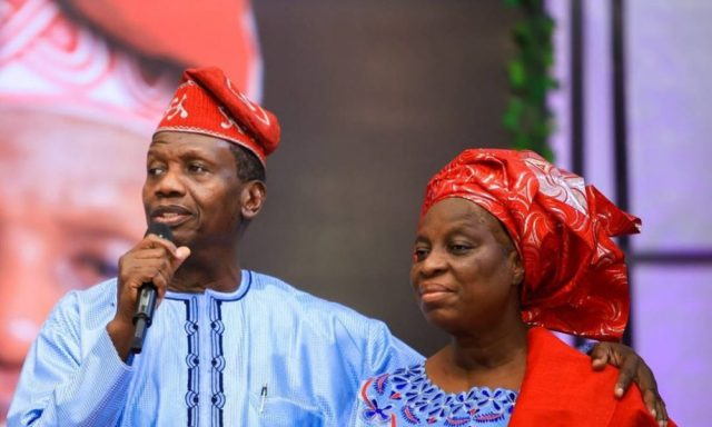 pastor adeboye and wife foluke adeboye