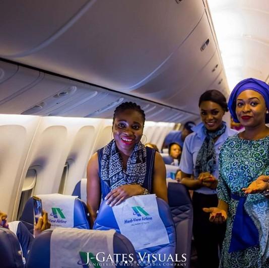 propose on a plane1 - Nigerian Man Proposes To His Girlfriend On Board A Plane To Dubai. (Photos)