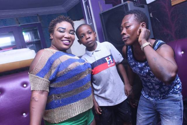 slay boy - Nigerian Lady Celebrates Her Little Son's Birthday Party At A Nightclub In Ibadan (Photos)
