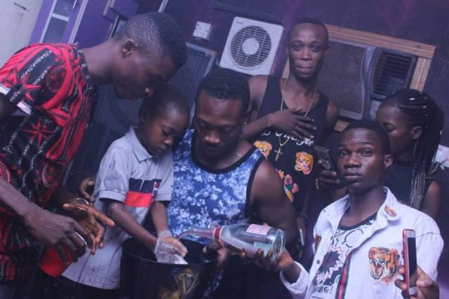 slay boy2 - Nigerian Lady Celebrates Her Little Son's Birthday Party At A Nightclub In Ibadan (Photos)