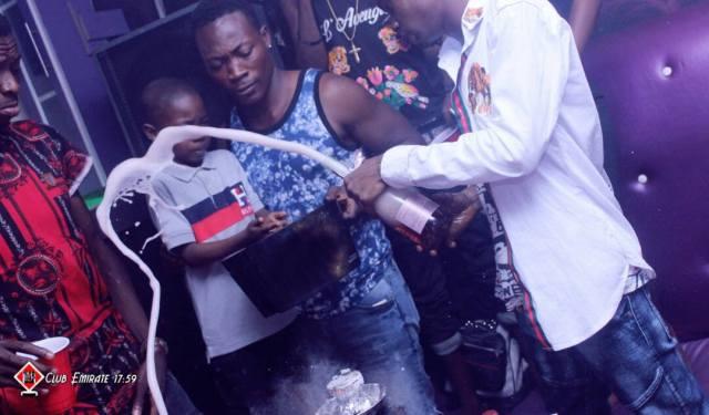 slay boy3 - Nigerian Lady Celebrates Her Little Son's Birthday Party At A Nightclub In Ibadan (Photos)