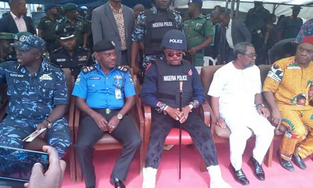 Anambra Governor Willie Obiano Rocks Police Uniform