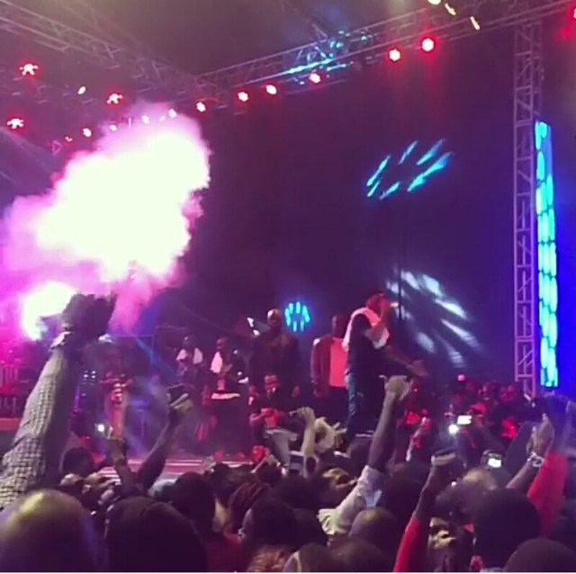 Wizkid crowned as a King in Uganda