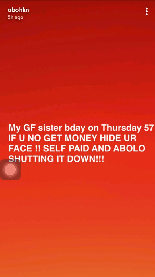 """If U No Get Money Hide Ur Face"" — Davido Says as He Continues to Splash Cash On His Mystery Girlfriend Chioma"