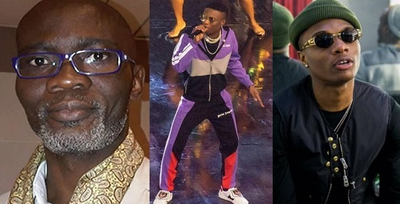 He dressed as if he lost his way to the gym. I hear he is called Wizkid — Ghanaian Journalist comes for Wizkid over CAF performance