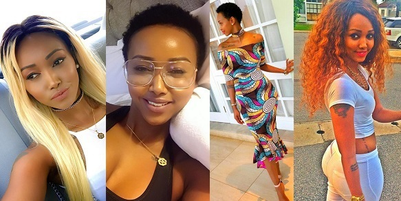 Image result for Huddah Monroe says no man wants to be her ex because her body is so intact
