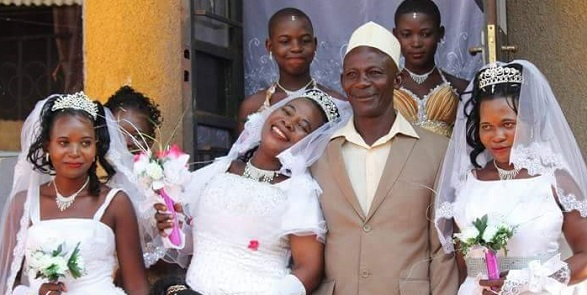 Man marries three women