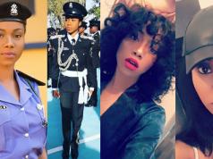 Beautiful Nigerian Female Police Officer