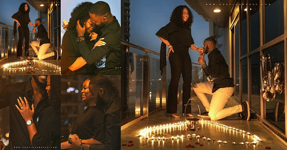 Nigerian Photographer Proposes To His Girlfriend In Dubai (Photos)
