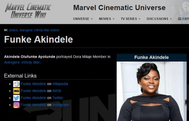 """funke - Funke Akindele-Bello to feature in """"Avengers: Infinity War"""""""