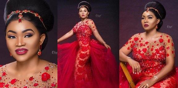 Red Dress: Mercy Aigbe Finally Speaks!
