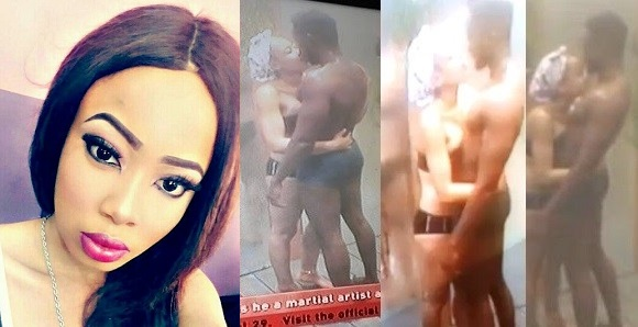 """#BBNaija: """"I know my boyfriend will feel bad. I'm sorry"""" — Nina begs boyfriend for making out with Miracle in the shower"""
