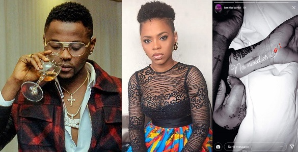 Kiss Daniel and Chidinma might want to keep their relationship under wraps..