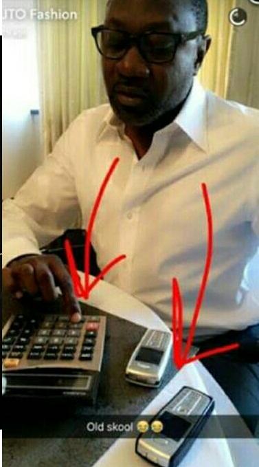femi otedola 1 - Femi Otedola Dumps His Nokia Phones For iPhone, See why