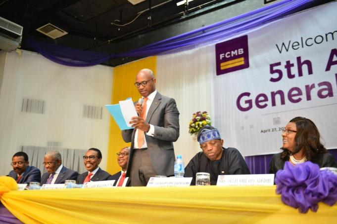 Image result for FCMB 2017 agm