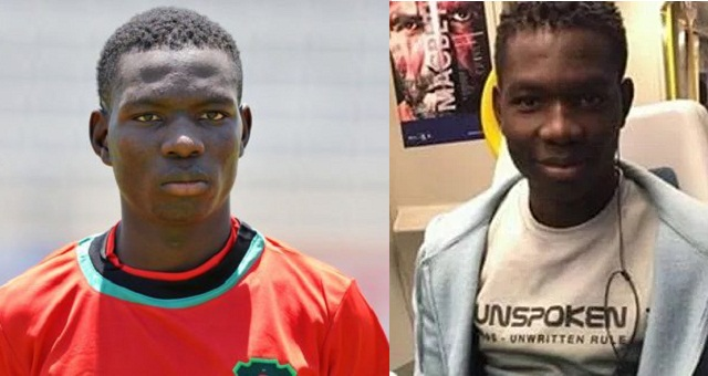 18 year old African player dies