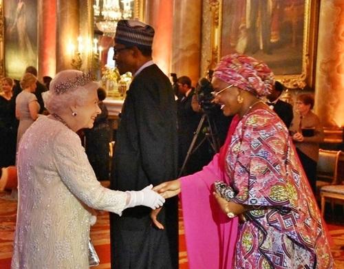 buhari-and-wife-had-dinner-with-queen-elizabethII