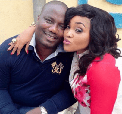 Lanre Gentry, Mercy Aigbe's ex-husband is still throwing shades at her