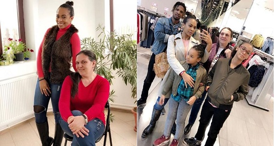 Tboss visits Family