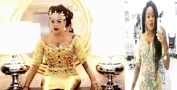 Toyin Lawani gives