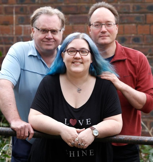 Mary has a husband, Tim, 43, a fiance, John, 53, and two boyfriends – Michael, 63, and James, 73. She lives with Tim and John and the other two men live nearby.