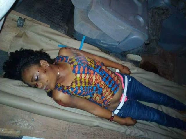 Tragic! Beautiful young pregnant lady killed in car accident in Imo state